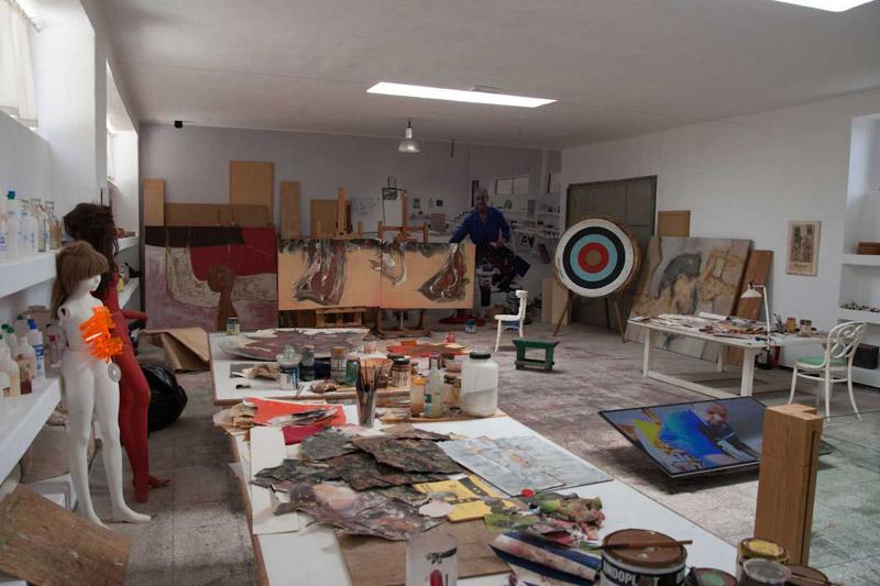 C sar manrique cabrera pintor escultor arquitecto y - Cesar manrique hijos ...