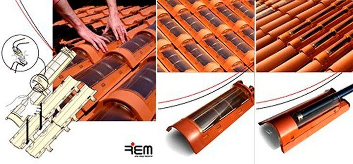 tecnología de la arquitectura_teja solar TechTile plexiglas