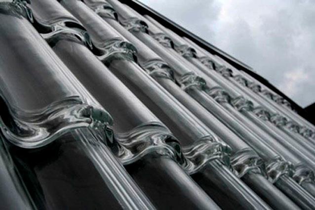 tecnología de la arquitectura_teja solar vidrio