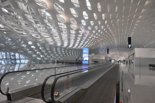 Shenzhen, Aeropuerto, Terminal, Fuksas
