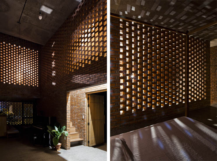 celos a de ladrillo termitary house arquitectura