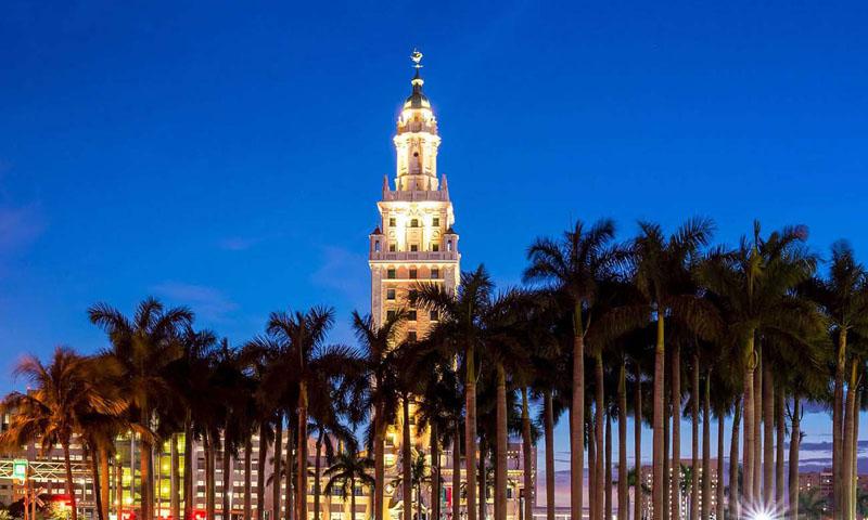 La Torre De La Libertad Freedom Tower Miami Arquitectura