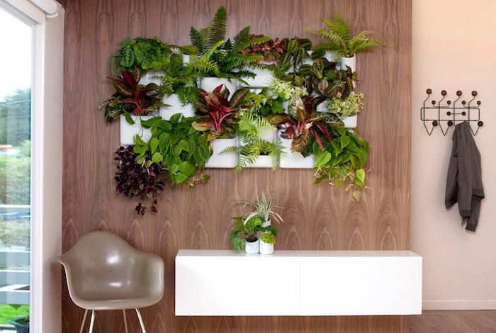 Urbio, jardín vertical, diseño