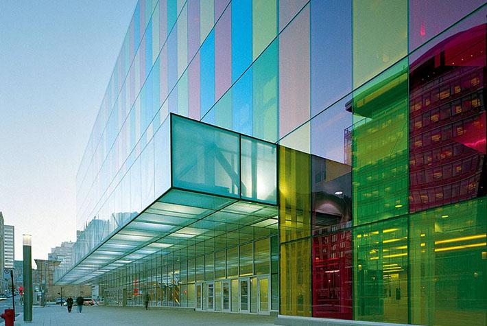 El futuro es de cristal cristales t rmicos ac sticos y - El color en la arquitectura ...