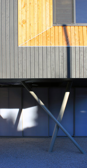 arquitectura_Braham Architects_Beach Office_pilares