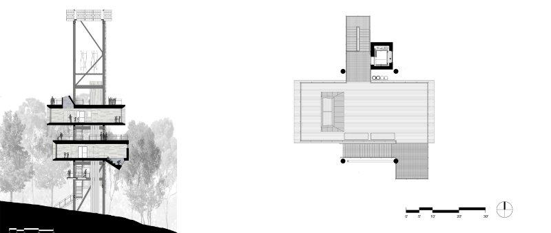 arquitectura, arquitecto, diseño, design, sustainable, sostenible, ecología, ecológico, educativo, educacional, casa en el árbol, Sustainability Treehouse, Mithun, Summit Bechtel, sostenibilidad, acero corten, madera, energía sola, eólico, viento