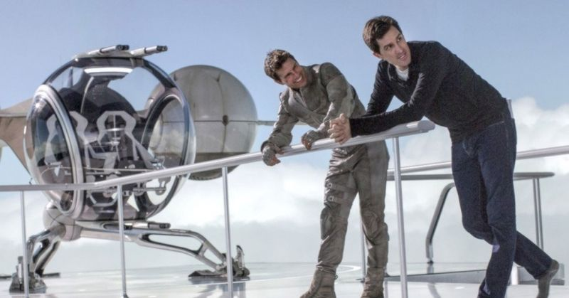 Sky Tower de Oblivion Josehp Konsinski Tom Cruise