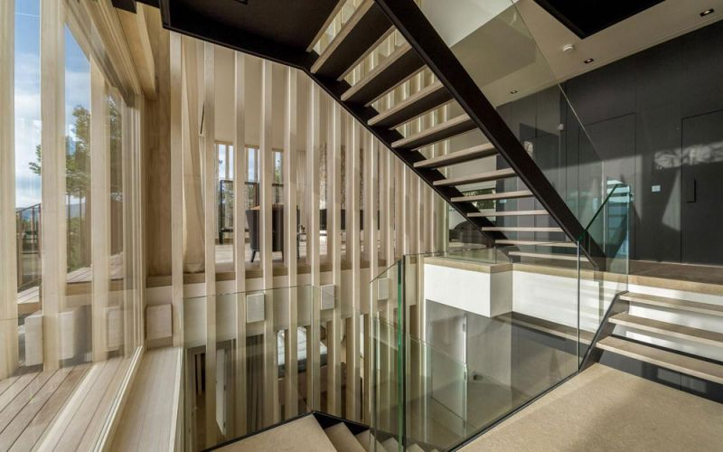 arquitectura Palomino Arquitectos Casa Prunera Accoya fotografia escaleras