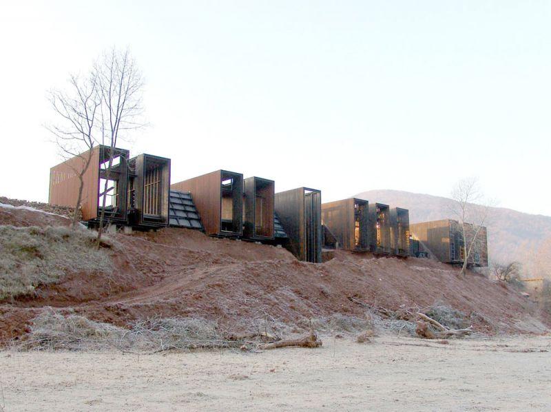 arquitectura casa horizonte rcr arquitectes netflix fotografia exterior en construccion