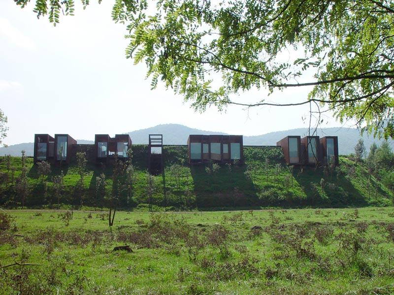 arquitectura casa horizonte rcr arquitectes netflix fotografia exterior frontal