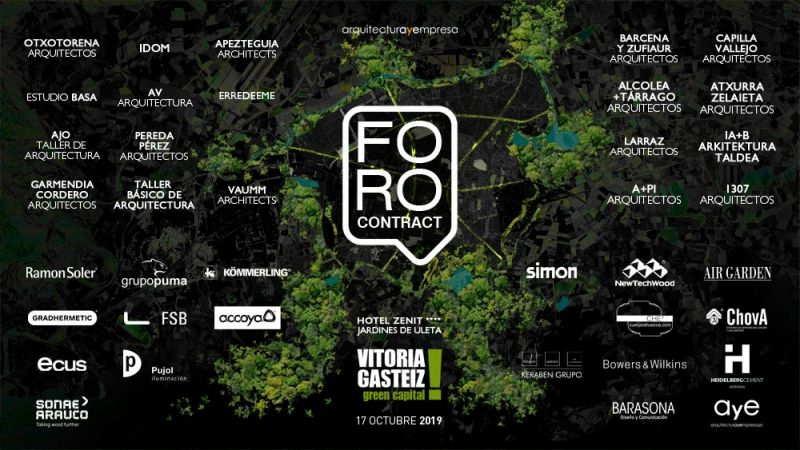 arquitectura foro contract vitoria gasteiz cartel evento