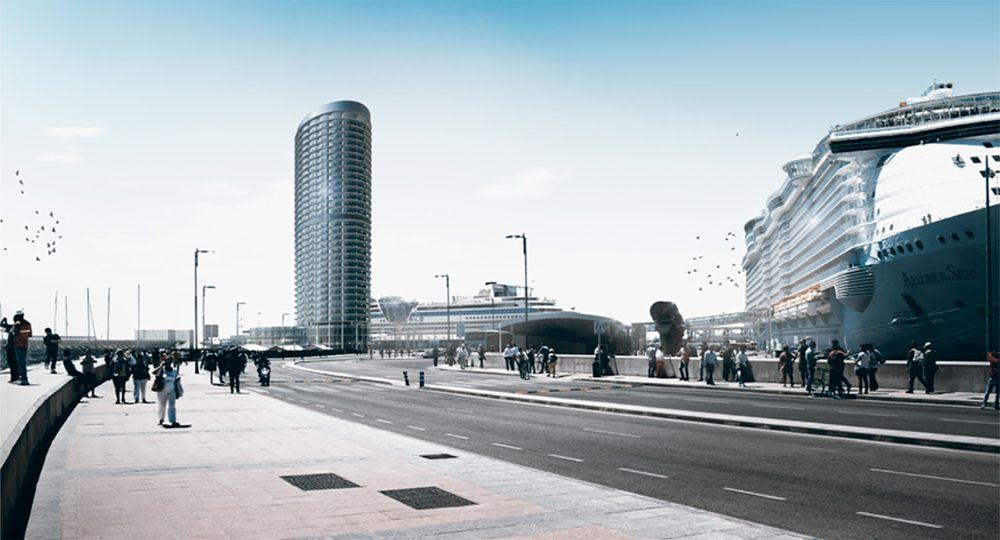 Debate de arquitectura torre del puerto de m laga - Estudios de arquitectura en malaga ...