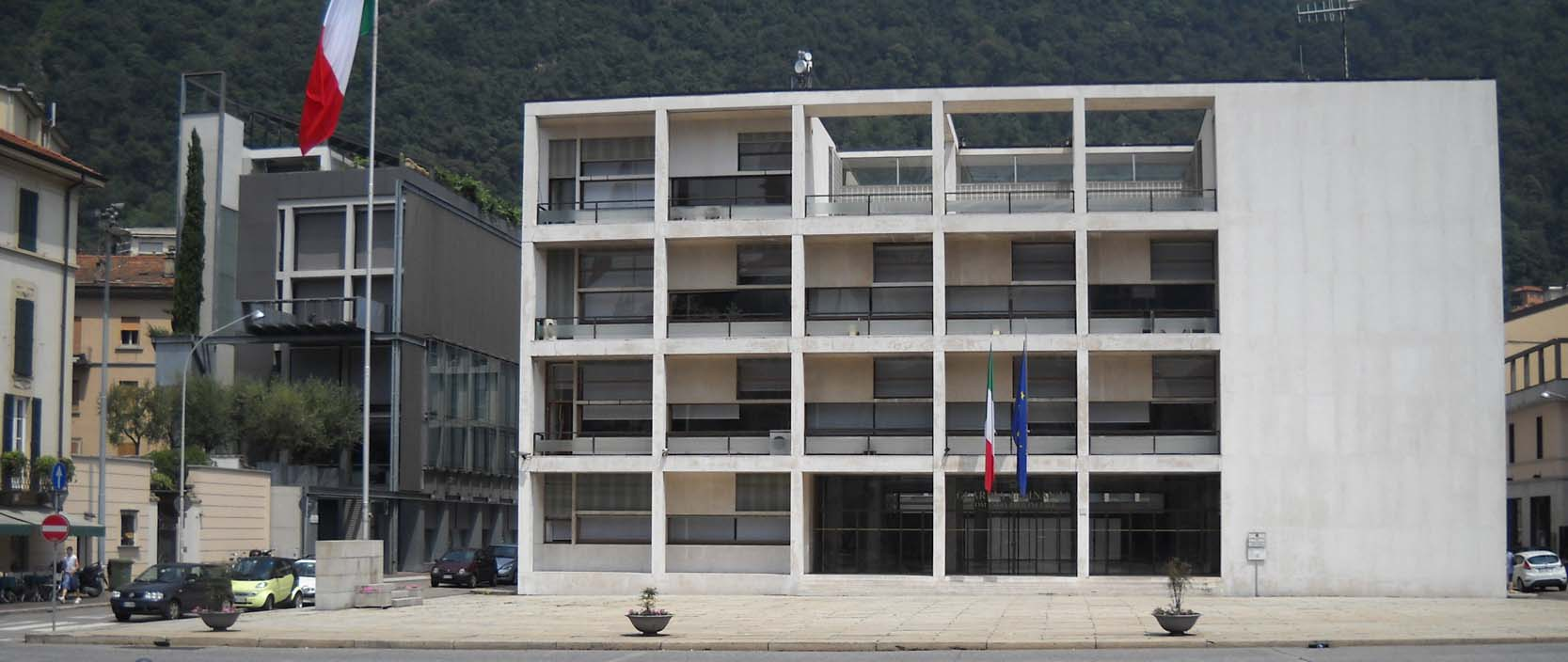 Giuseppe terragni la casa del fascio arquitectura for Giuseppe terragni casa del fascio