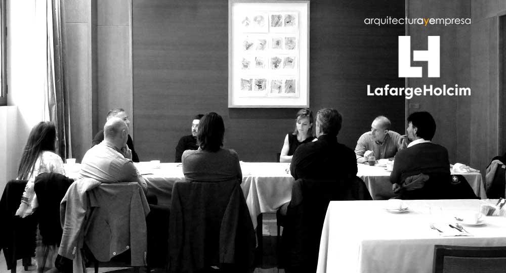Desayunos de arquitectura y empresa con lafargeholcim for Master interiorismo valencia