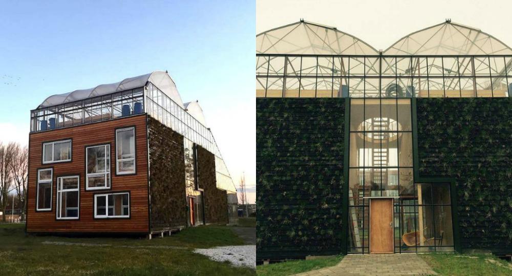 Vivienda unifamiliar invernadero urbano experimental for Vivienda unifamiliar arquitectura