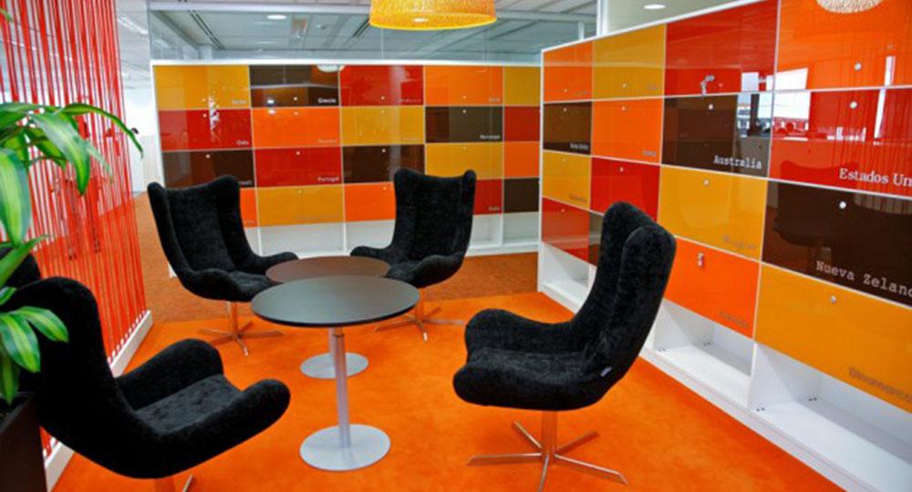 Dise o de oficinas el concepto de oficina flexible de 3g office oficinas centrales de kellogg - Trabajo arquitecto madrid ...