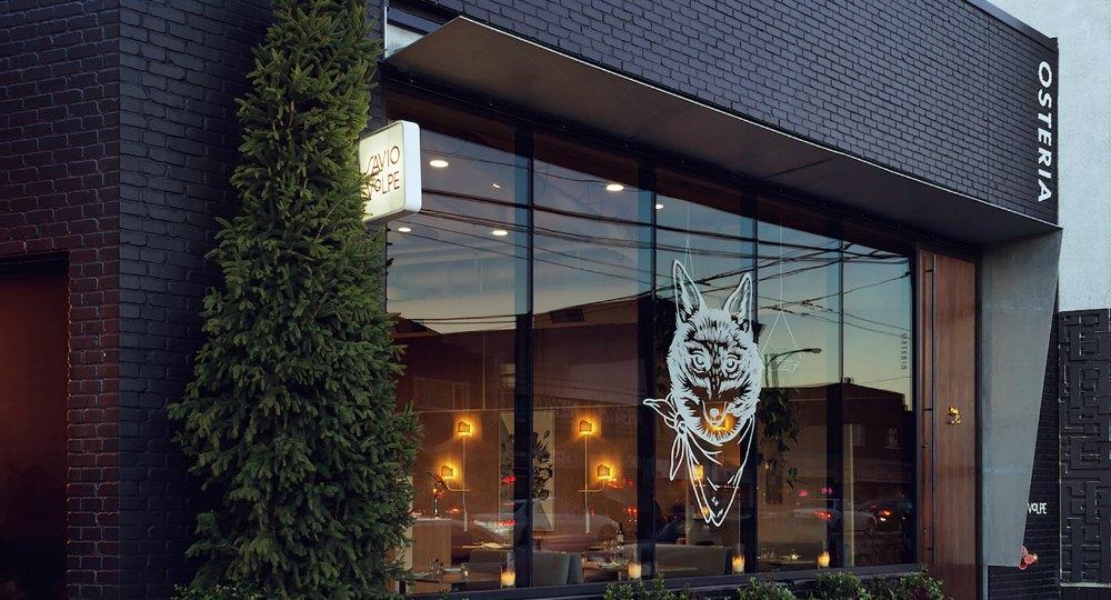 Reinterpretando el estilo italiano savio volpe for Restaurante arquitectura