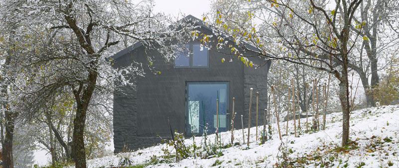 Maison savioz la casa en la colina arquitectura - Arquitectos espanoles actuales ...