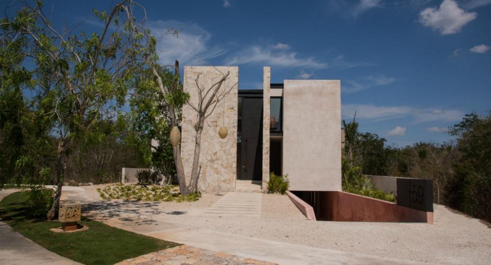 Casa chaaltun estudio de arquitectura tescala architects - Estudios de arquitectura en tenerife ...