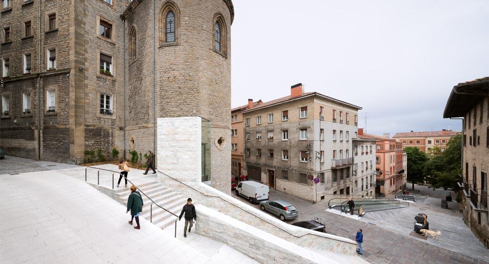 Accesibilidad centro hist rico vitoria gasteiz arquitectura - Arquitectos en vitoria ...