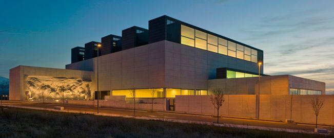 Biblioteca p blica del estado en segovia arquitectura - Benjamin cano arquitecto ...