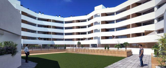 Bloque de 66 viviendas en Mostoles. Madrid