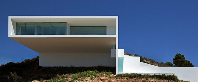 Casa del acantilado, Calpe (Alicante)