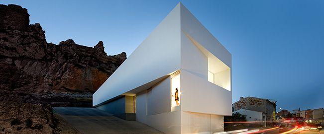 Casa en la ladera de un castillo,  Ayora (Valencia)