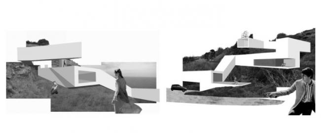 Casa en zigzag