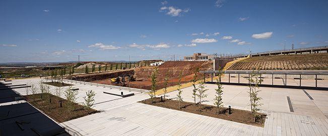 Primera Fase de la urbanización del Campus Científico Tecnológico de Linares, Jaén