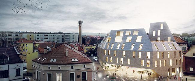Edificio Multifuncional en Rzeszow