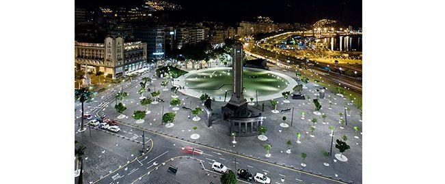 Remodelación de la Plaza de España, Santa Cruz de Tenerife