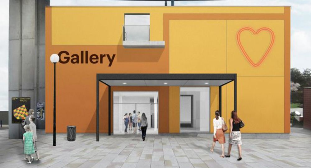 El próximo marzo será inaugurada la ampliación de la MK Gallery, Reino Unido. 6a Architects.