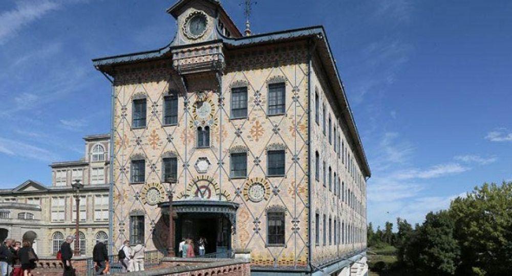 Edificio de Turbinas Menier (Francia): patrimonio de la Humanidad con sabor a chocolate.