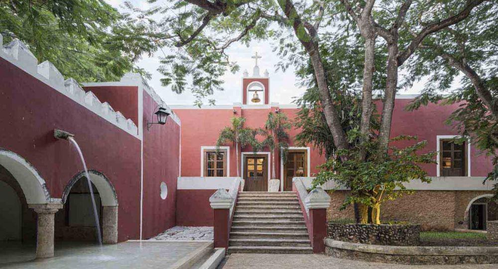 Hotel Chablé Resort   restauración de la  antigua Hacienda San Antonio Chablé