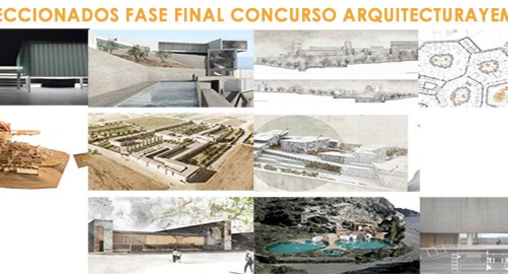 10 proyectos finalistas del II Concurso Nacional PFC Arquitecturayempresa