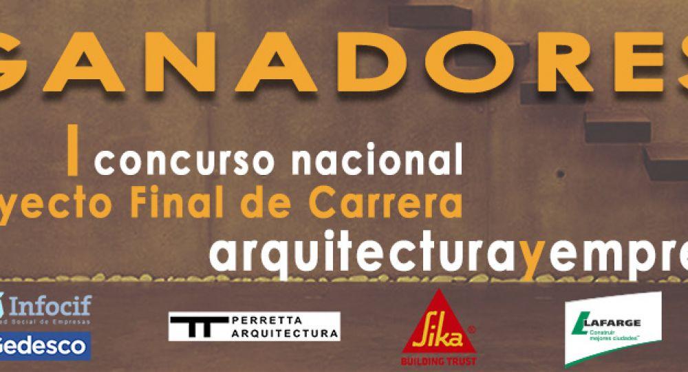 Ganadores 1er Concurso PFC arquitecturayempresa