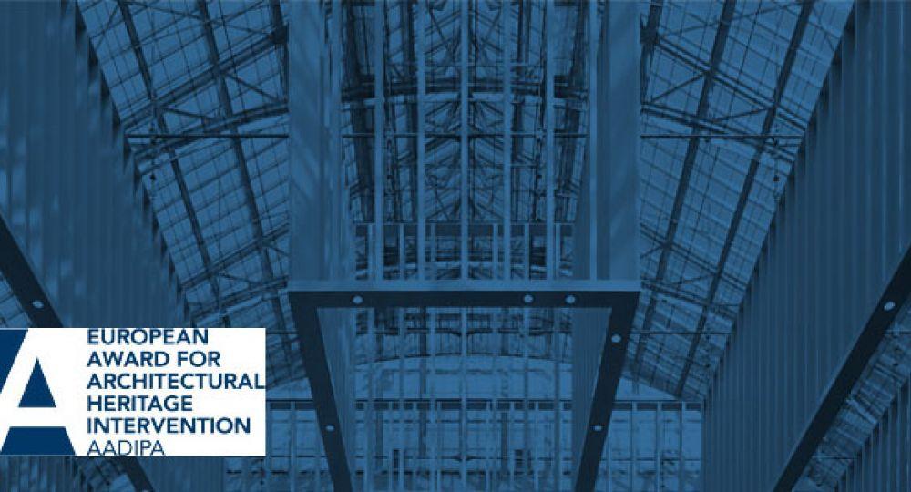 Abierta la convocatoria para el 2º Premio Europeo de Intervención en el Patrimonio Arquitectónico AADIPA