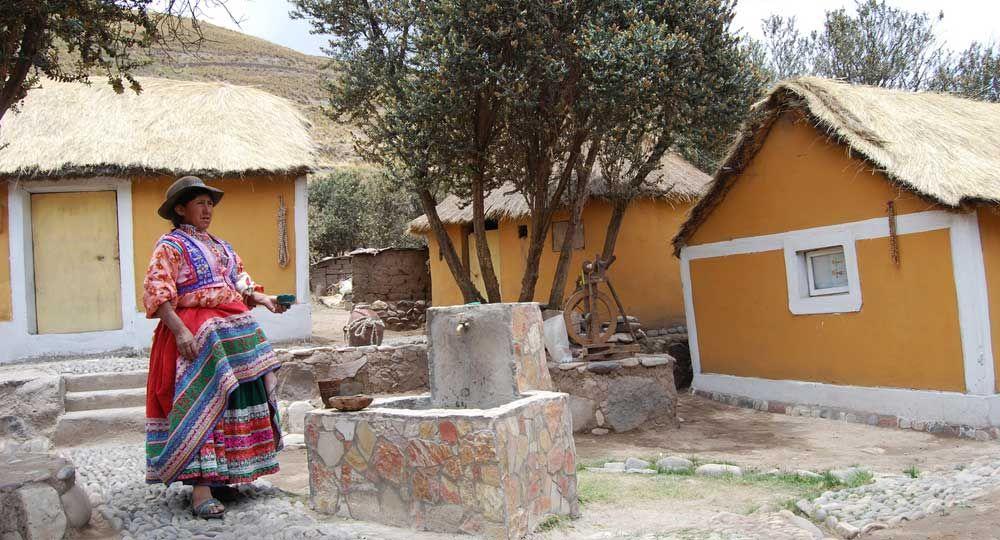 Programa de Vivienda Rural y Desarrollo Social en Sibayo, Perú