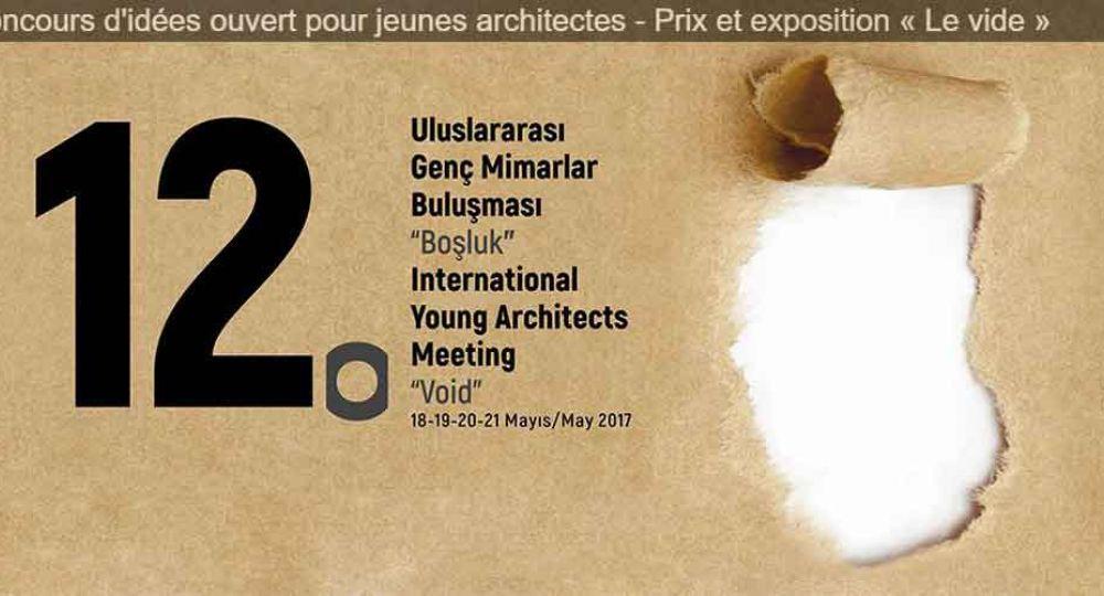Abierto el plazo de presentación de proyectos para el 12º Premio Internacional de Jóvenes Arquitectos organizado por la UIA