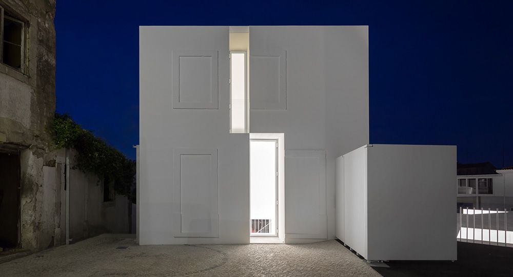 Casa en Alcobaça, de Aires Mateus: un viaje en el tiempo