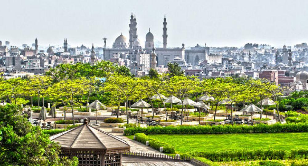 Al-Azhar Park, un pulmón en pleno centro de El Cairo
