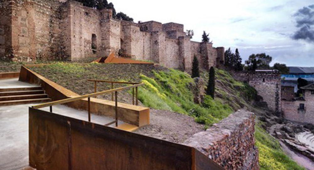 Rehabilitación Paisajística de la ladera de la Alcazaba en Málaga