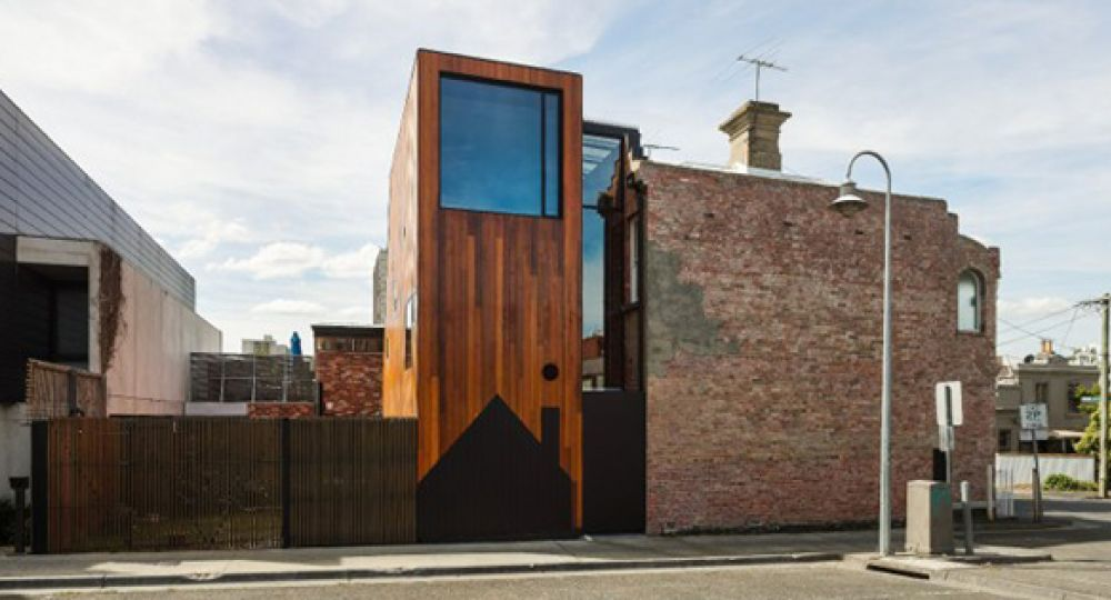 Volumen compartido: ampliación de dos viviendas en Melbourne