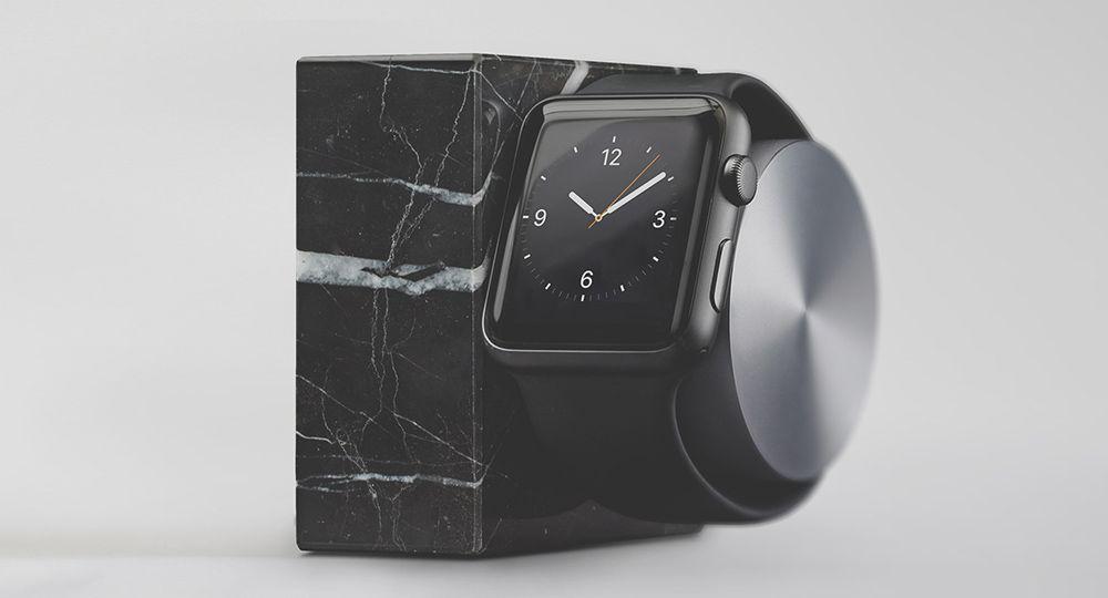 El mejor soporte para Apple Watch