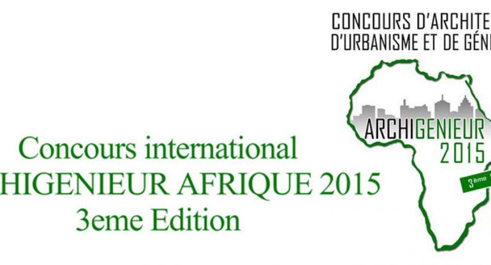 Concurso internacional Archigenieur Afrique 2015