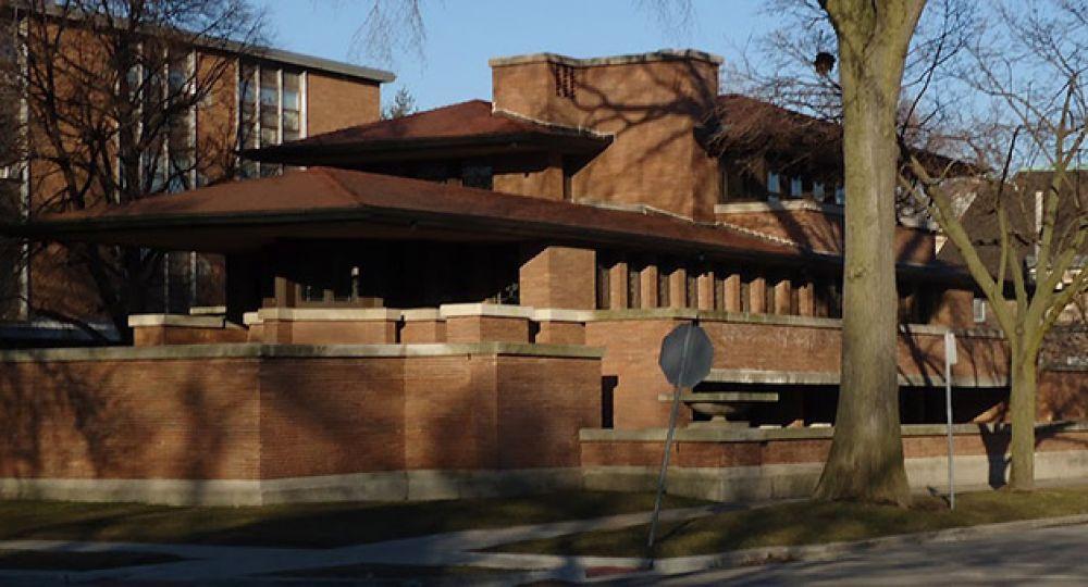 Robie house obra cumbre de la arquitectura moderna frank for Arquitectos de la arquitectura moderna