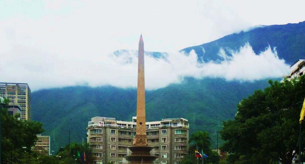 Arthur Kahn en  Caracas edificio Altamira
