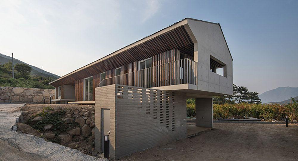 The Grandpa's Cool House, arquitectura tradicional coreana y modernidad.