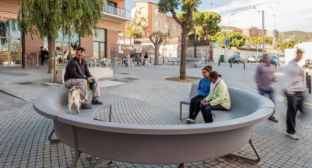 Urbanización de la Plaça Isop, por BAAS Arquitectura
